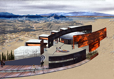 Rendering of Arizona Consortium for the Arts